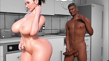 Father-in-law at home 4 [CrazyDad3d]