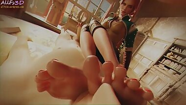 You sniff Triss Merigolds feet POV
