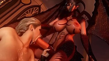 Demons Part 3 - Futanari 3D