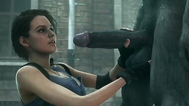 Resident Evil - Hot Jill Valentine - Part 9