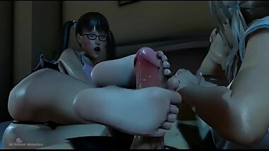 My Sisters 3d cartoon hentai Feet 3