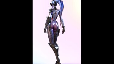 Widowmaker Dance Overwatch 3d Animation Compilation [10 min + Full HD]