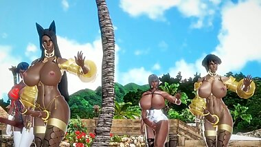[Honey Select MMD][Futa] Chocolate Cream