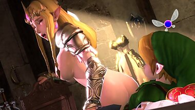 Zelda Dungeon Gently and Deeply Moves on a Small Dick Quality Version for long Fap Full HD